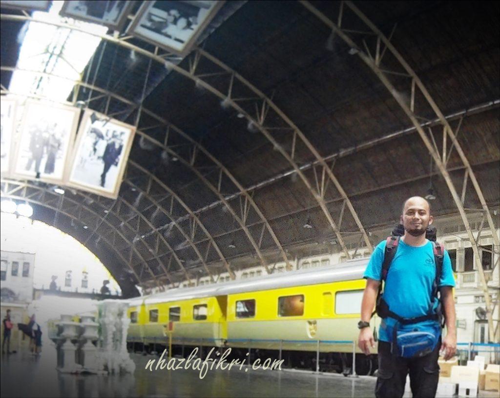 Malaysia ke Bangkok dengan tren – Siri V