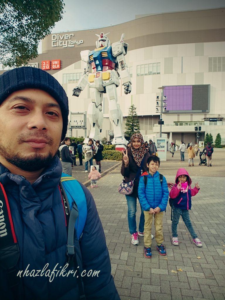 Travelog Disember sekeluarga keTokyo, Jepun