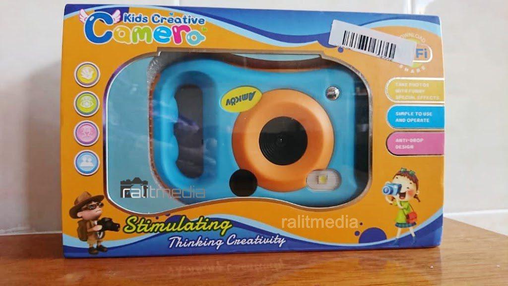 Preview Amkov Camera – Cadangan untuk kamera pertama kanak-kanak