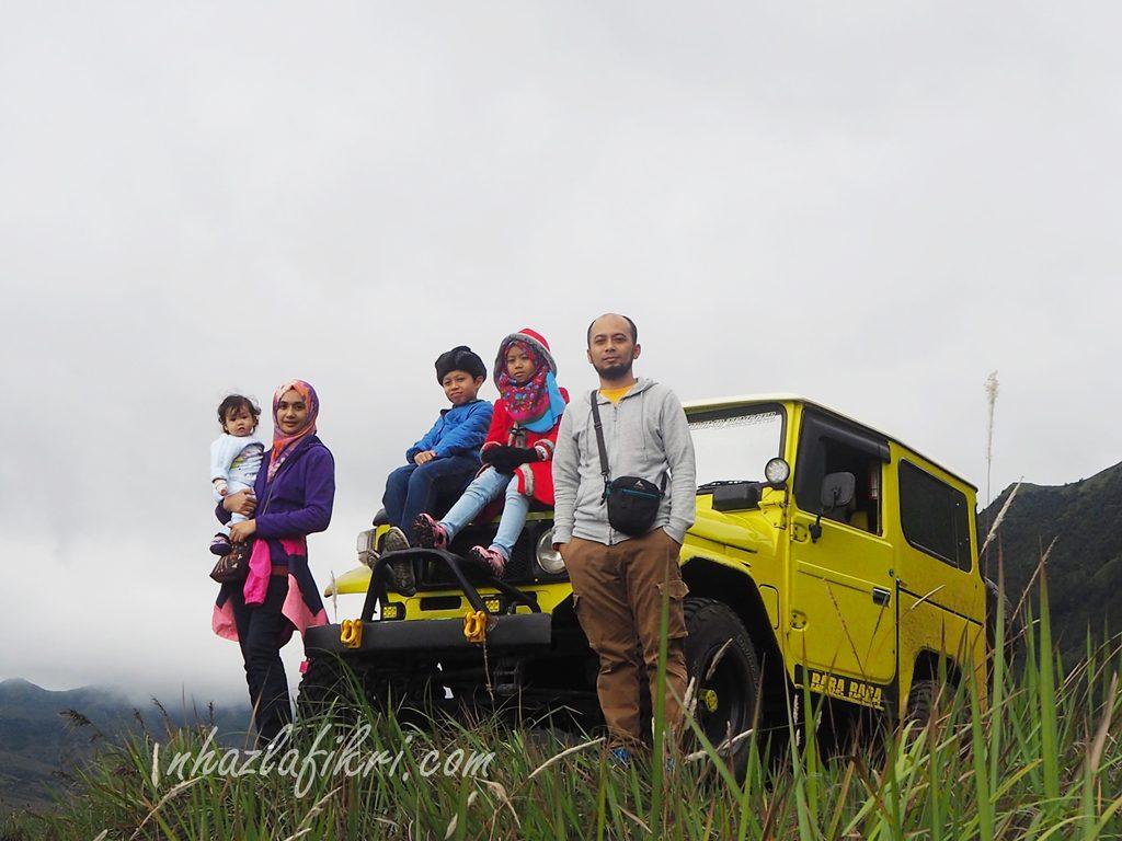 Trip Mt. Bromo bersama dengan anak-anak + bayi 9 bulan