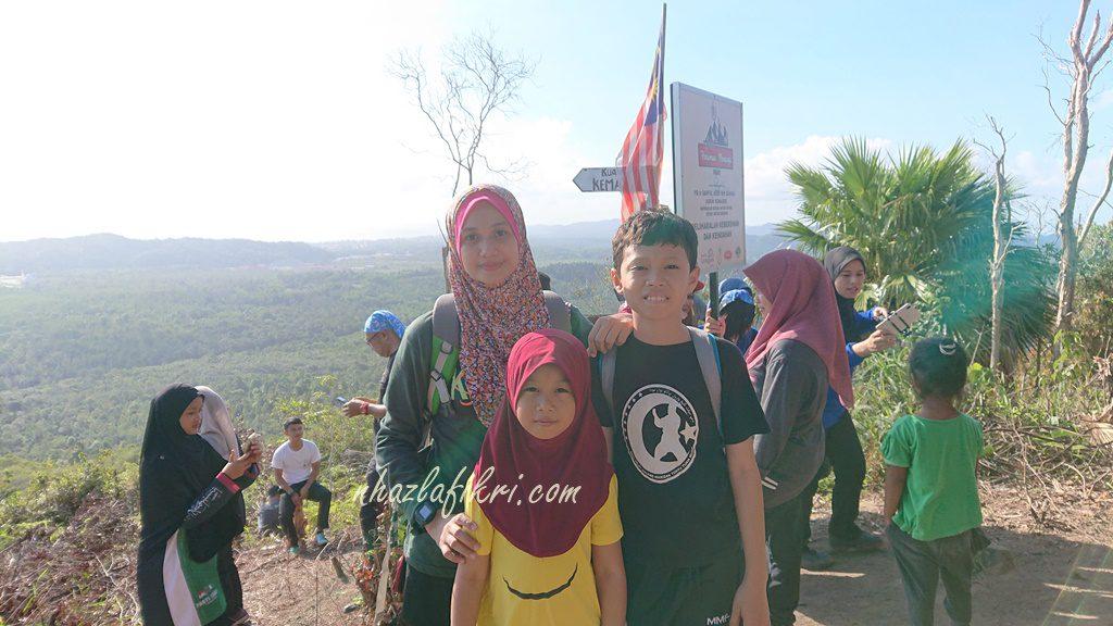 Bukit Harimau Menangis – Hiking dengan anak-anak