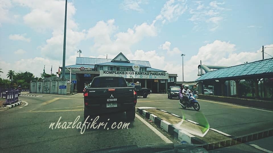 Masuk Thailand melalui Kelantan