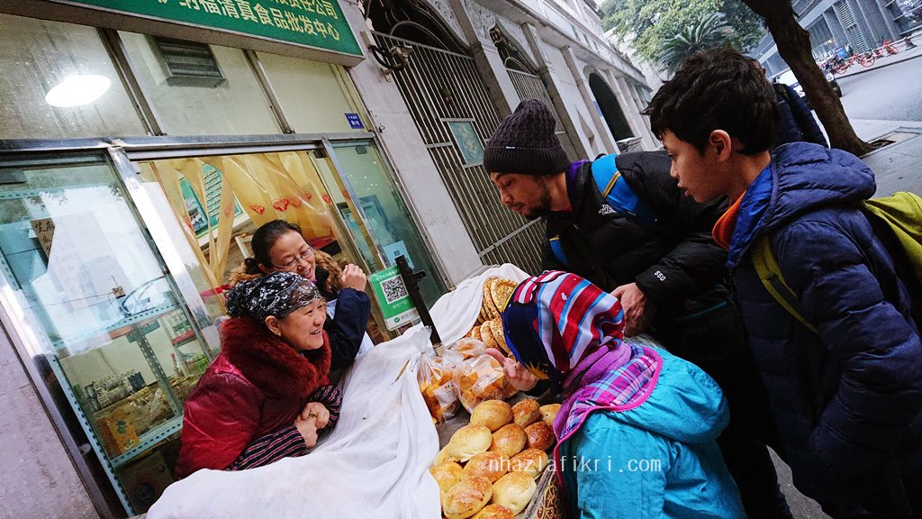 Makanan halal di Bandar Chengdu