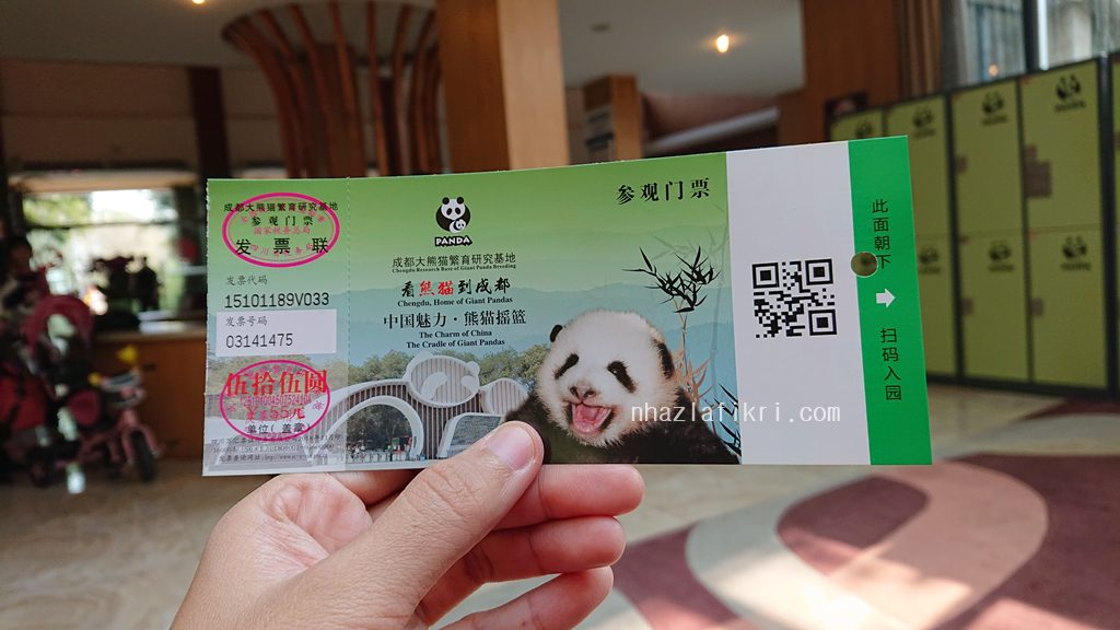 Tengok si mata lebam – Chengdu Research Base of Giant Panda Breeding