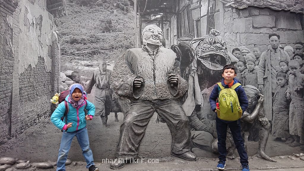 Kembara di Dujiangyan bersama keluarga – DIY TRAVEL