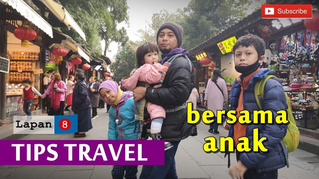 Tips travel bersama anak-anak