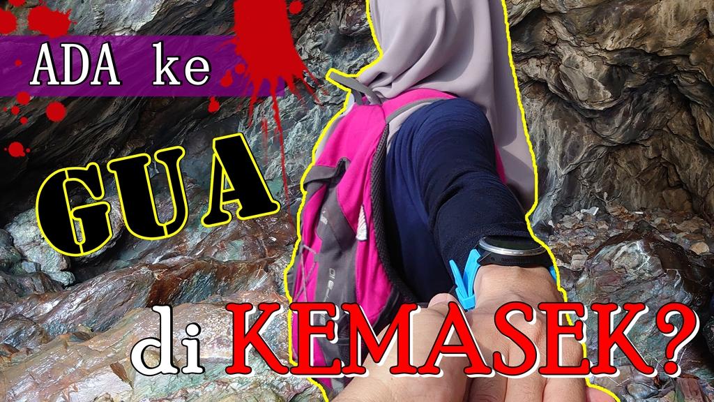 Pantai Kuala Kemasik ada GUA