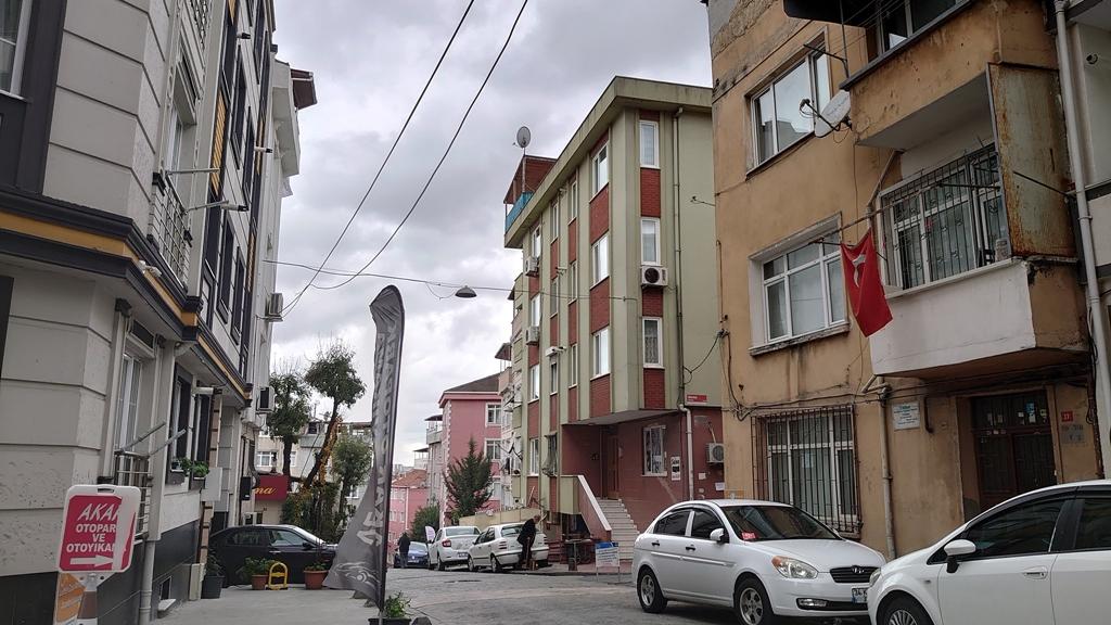 Rumah sewa kami di Istanbul, Turki