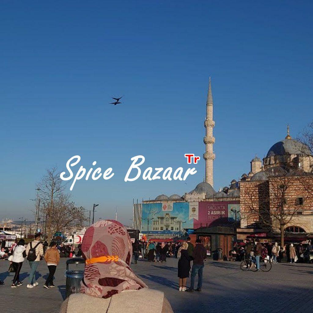 Membeli-belah di Spice Bazaar, Istanbul Turki